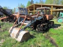 Трактор ДТ-75 Чайка