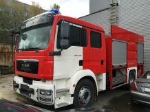 Пожарный автомобиль Т-35 / MAN