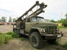 Буровая машина МРК-750 / ЗИЛ 131